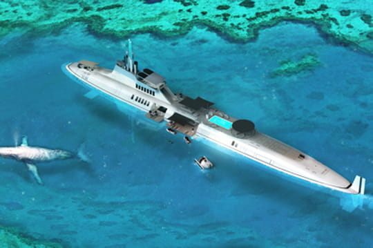 Yacht sous-marin Migaloo