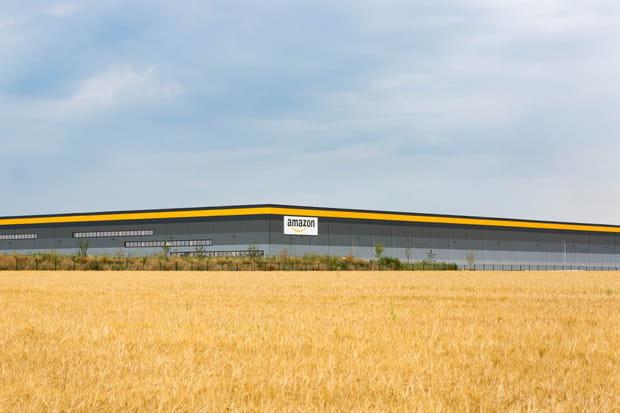 Le centre de distribution de Boves, 5e centre du géant de l'e-commerce ouvert en France