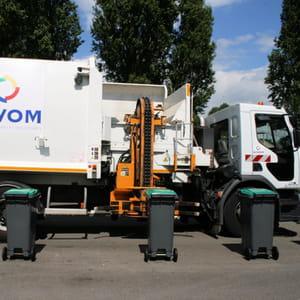 l'automatisation du ramassage d'ordures est en cours.