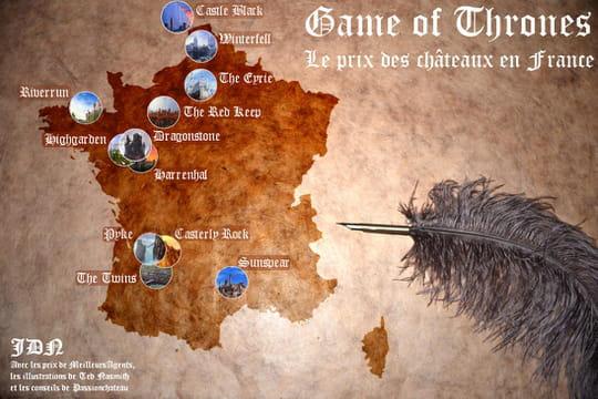 Game of Thrones : en France, Winterfell coûterait 215 millions d'euros