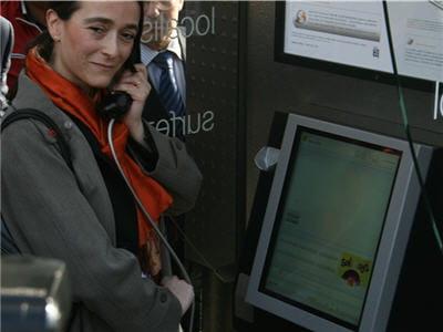 delphine ernote, directrice exécutive d'orange a inauguré la première nouvelle