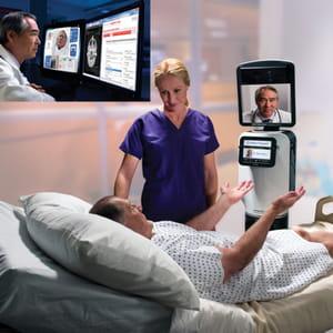 les médecins peuvent effectuer leurs consultations à distance grâce au robot