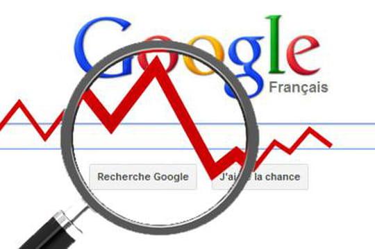 Baisse dans Google : que faire ?