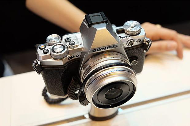 Un appareil photo numérique très design