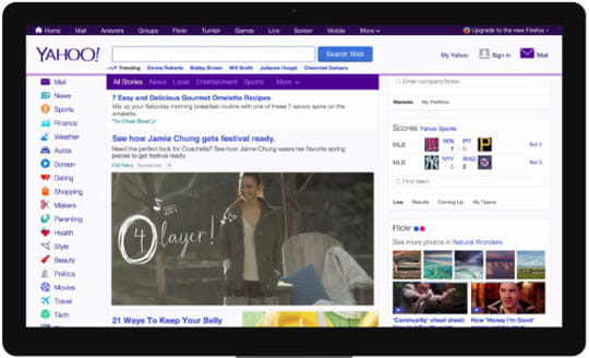 Yahoo lance en France son format denative vidéo