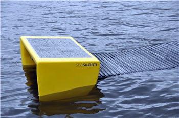 le prototype de robot qui pourrait à terme nettoyer nos océans en cas de marée