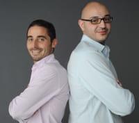 laouari medjebeur et thomas nomaksteinsky, cofondateurs de mektoube.fr