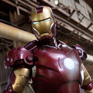 le héros du film iron man.