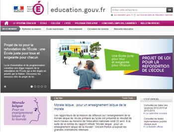 les internautes s'étant rendus sur le portail de l'éducation nationale y sont