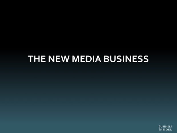 Le nouveau business des médias