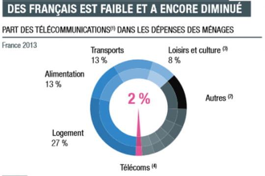 La téléphonie est plus économique en France
