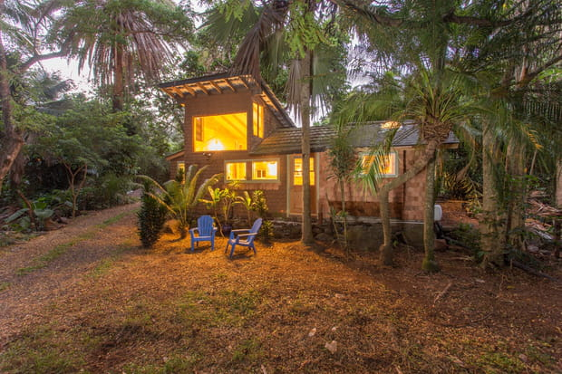 La maison de Jimi Hendrix à Hawaï (Etats-Unis)