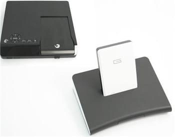 les deux modèles accueillent leur disque dur externe dédié