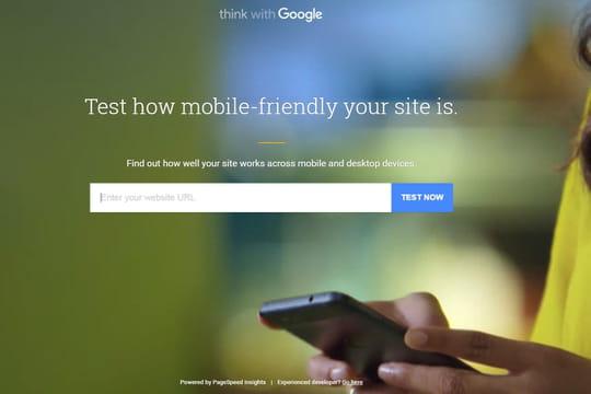 Google lance un nouvel outil pour tester la perf d'un site, et ses optimisations pour mobile