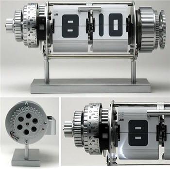 une horloge mécanique assez géniale