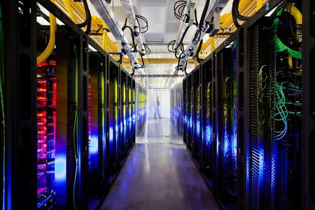 La salle réseau du cloud de Google