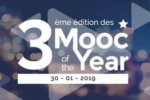 La cérémonie Mooc of the Year aura lieu le 30janvier