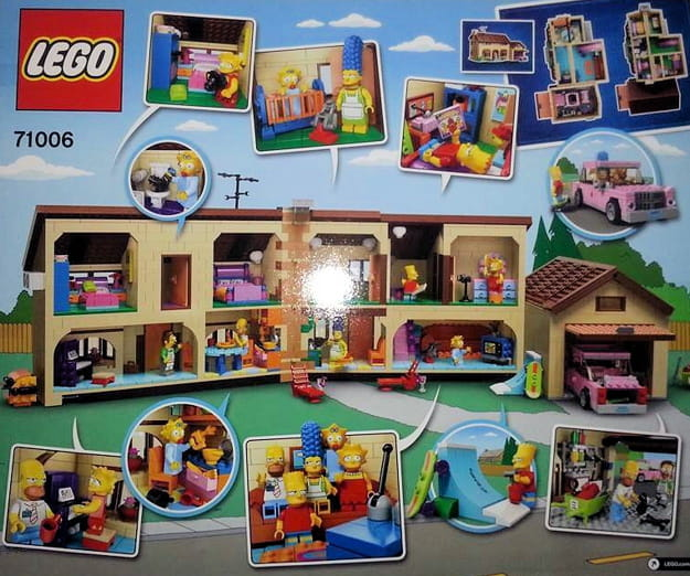 the simpsons lego set(4)