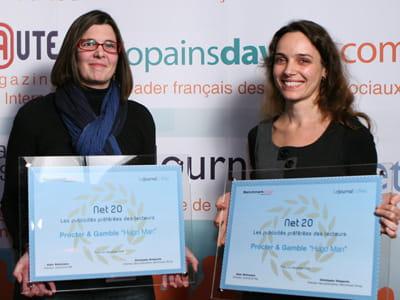vanessa delaveau, digital account director chez mediacom et alexia andré,