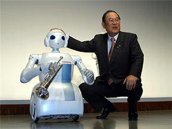 le robot d'assistance et d'aide aux personnes âgées sera aussi musicien.