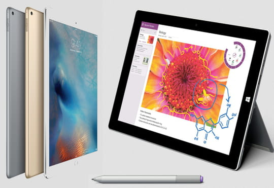 iPad Pro vs Surface Pro 3 : comparatif