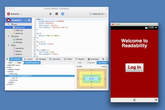 WebIDE : Mozilla dévoile un outil de développement HTML5 pour Firefox