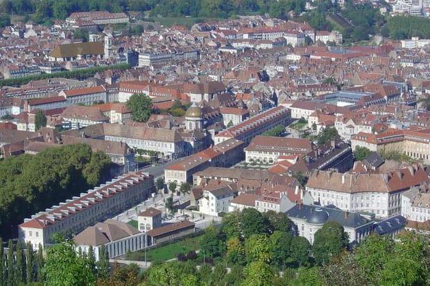 46ème. Besançon : 12,1% des locaux éligibles au Très Haut Débit