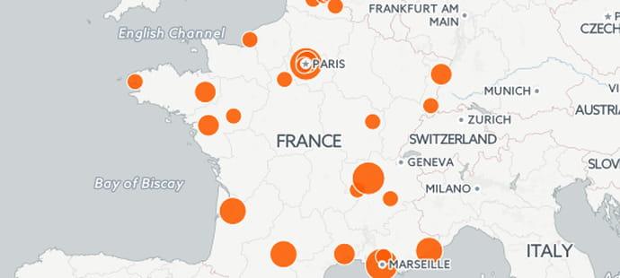 Smart city: où sont les villes intelligentes en France