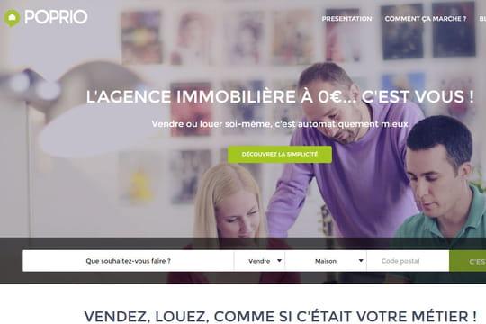 Poprio, le site qui vous aide à vendre votre bien immobilier sur Internet