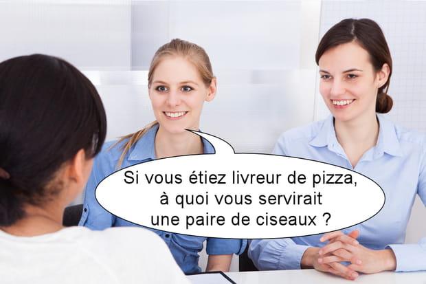 Questions étranges entretien d'embauche