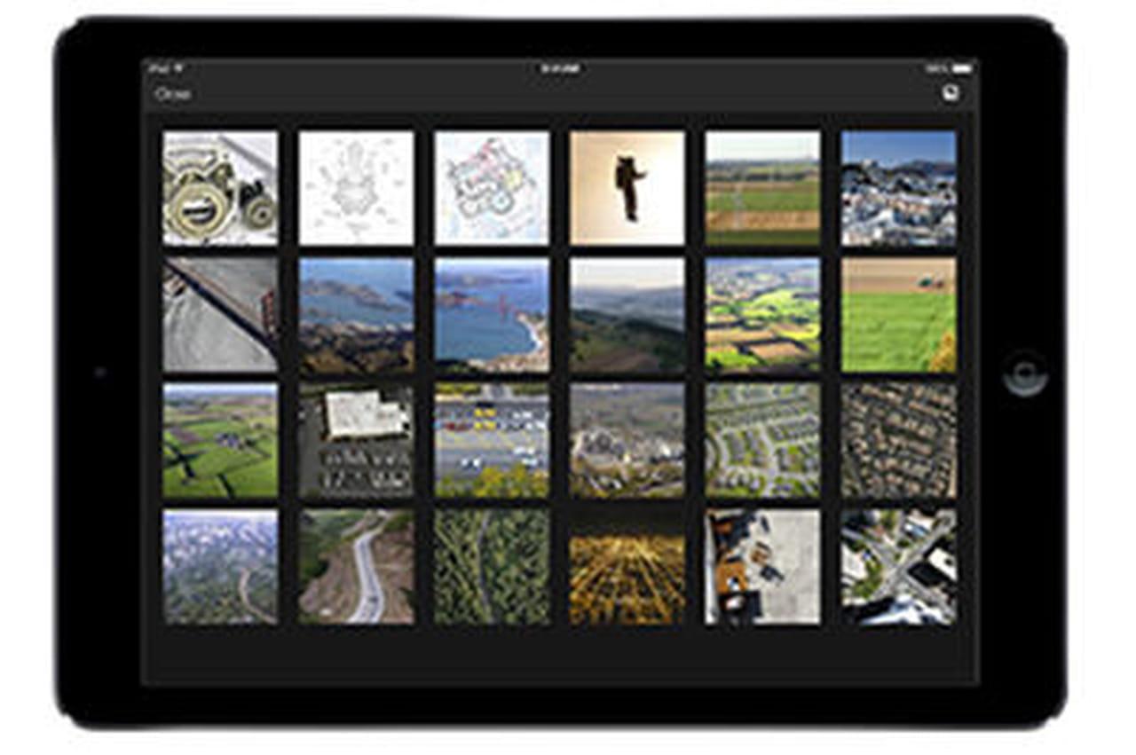 Box lance sa nouvelle app pour iphone et ipad for Application miroir pour ipad