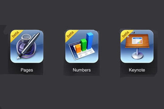 Apple iWork en mode cloud : la suite bureautique en beta