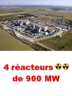la centrale nucléaire de blayais couvre 1,5 fois les besoins en électricité de