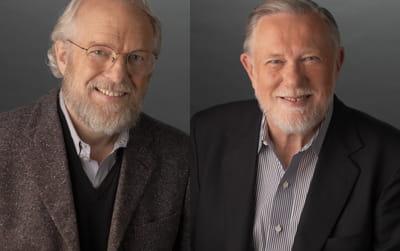john e. warnock et charles m. geschke sont les co-fondateurs d'adobe.