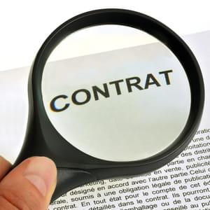 lisez votre contrat à la loupe.