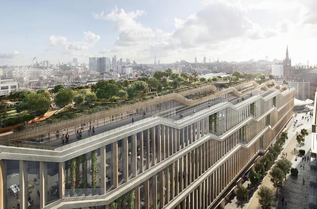 Découvrez le futur siège de Google à Londres