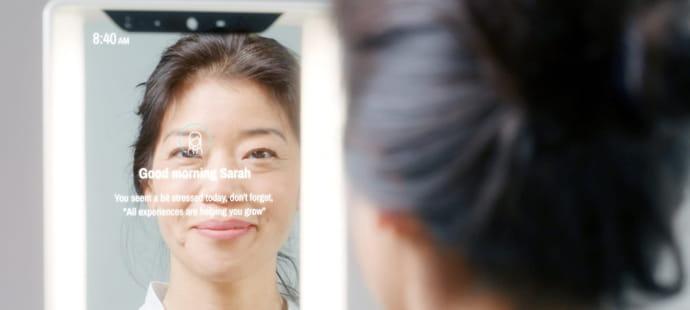 Pour démocratiser ses miroirs connectés, CareOS leur offre la voix