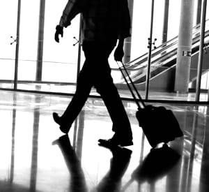 vous apprécierez n'avoir qu'une petite valise à roulette à transporter.