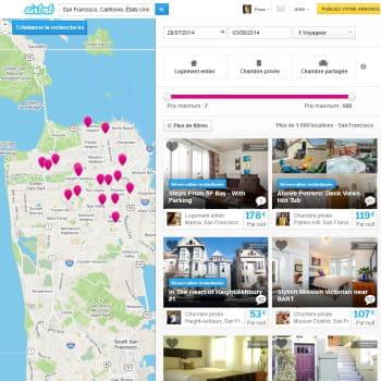 5ème : airbnb avec 551 000 vu