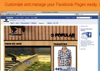 tigerlily est un outil de gestion de pages facebook