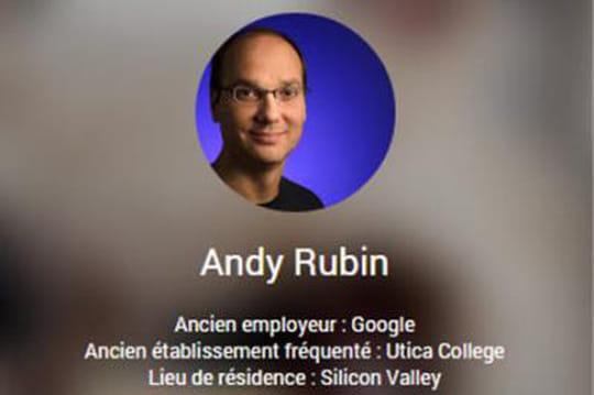 Andy Rubin, le père d'Android, quitte Google