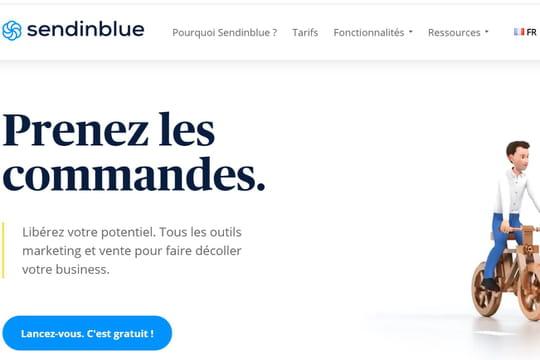 Le spécialiste du marketing digital Sendinblue lève 140 millions d'euros