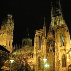 la cathédrale de rouen.