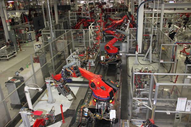 Plus de 150 robots sont utilisés