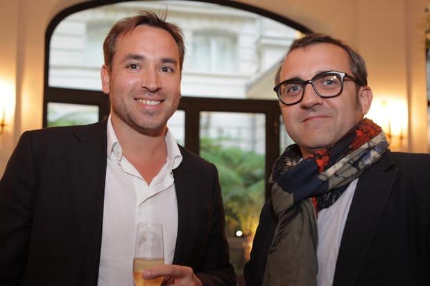 Jean-François Pillou et Christophe Dané