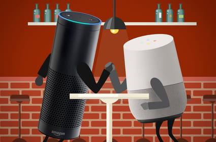 Amazon Echo vs Google Home: une guerre de positions