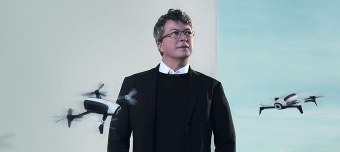 """Henri Seydoux (Parrot):""""Les appareils pros représentent 20% du CA de la branche drone de Parrot"""""""