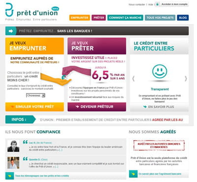 home page pret union