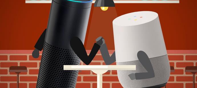 Test: faut-il acheter Google Home à Noël ou attendre la sortie d'Amazon Echo?