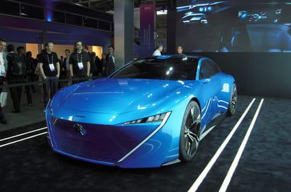 Peugeot fait son show avec un concept-car autonome
